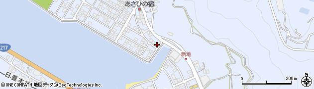 大分県津久見市千怒5077周辺の地図