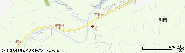 大分県津久見市上青江6040周辺の地図