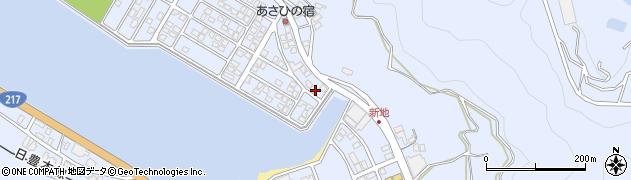 大分県津久見市千怒5078周辺の地図
