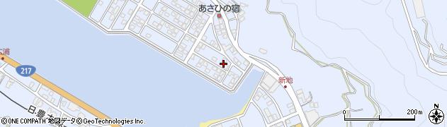 大分県津久見市千怒5104周辺の地図
