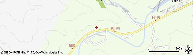 大分県津久見市上青江6448周辺の地図