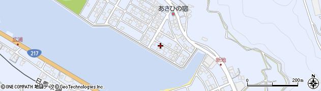 大分県津久見市千怒5120周辺の地図
