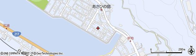 大分県津久見市千怒5107周辺の地図