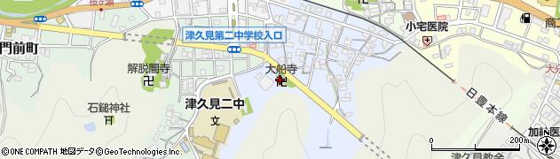 大船寺周辺の地図