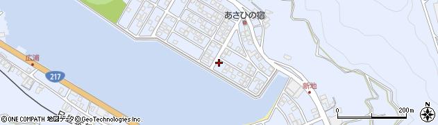 大分県津久見市千怒5122周辺の地図