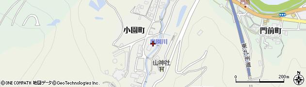 大分県津久見市小園町7周辺の地図