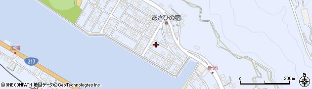 大分県津久見市千怒5102周辺の地図