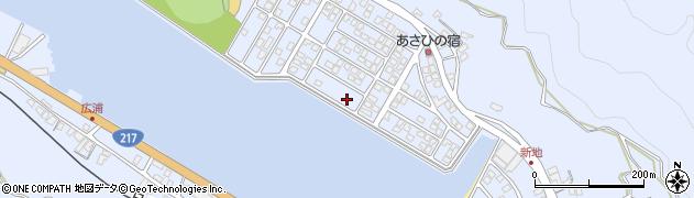 大分県津久見市千怒5244周辺の地図