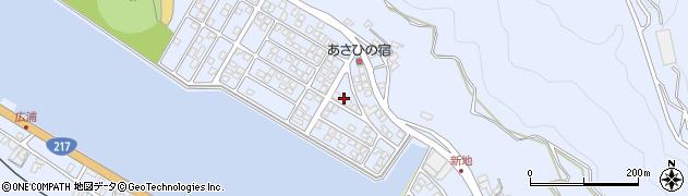 大分県津久見市千怒5092周辺の地図