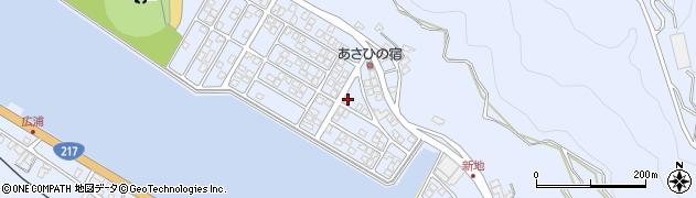 大分県津久見市千怒5093周辺の地図