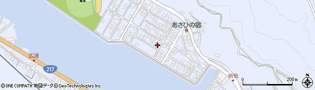 大分県津久見市千怒5217周辺の地図