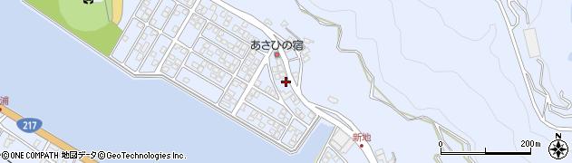 大分県津久見市千怒5072周辺の地図