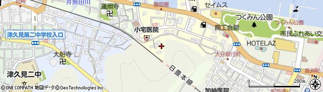 大分県津久見市港町11周辺の地図