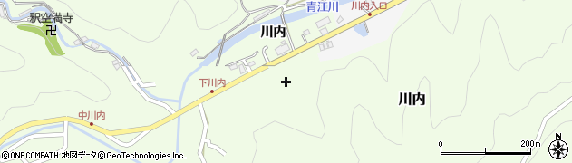 大分県津久見市上青江5946周辺の地図
