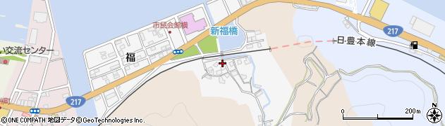 大分県津久見市津久見浦3787周辺の地図