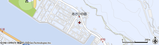 大分県津久見市千怒5085周辺の地図