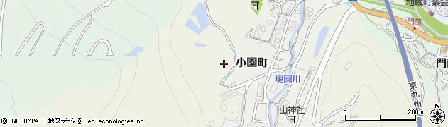 大分県津久見市小園町13周辺の地図