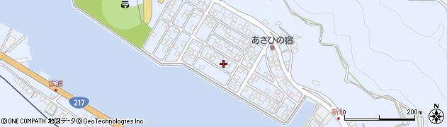 大分県津久見市千怒5219周辺の地図