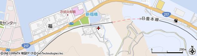 大分県津久見市津久見浦3632周辺の地図