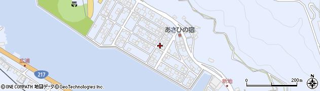 大分県津久見市千怒5196周辺の地図