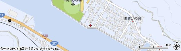 大分県津久見市千怒5333周辺の地図