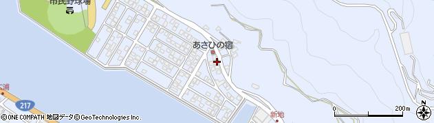 大分県津久見市千怒5074周辺の地図