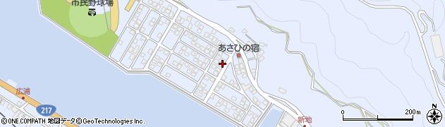 大分県津久見市千怒5183周辺の地図