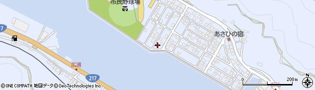 大分県津久見市千怒5328周辺の地図