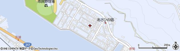 大分県津久見市千怒5198周辺の地図