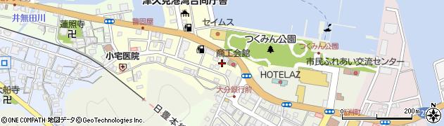 大分県津久見市港町1周辺の地図