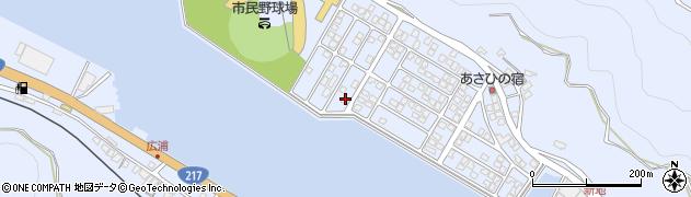 大分県津久見市千怒5321周辺の地図