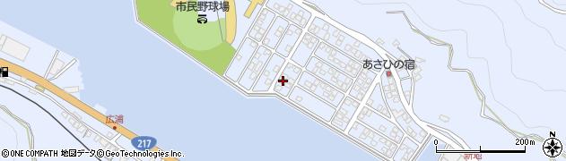 大分県津久見市千怒5420周辺の地図