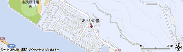 大分県津久見市千怒5075周辺の地図