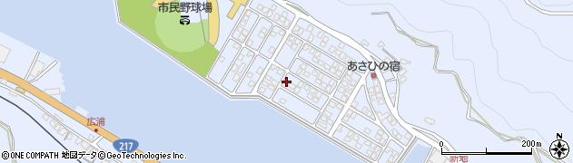大分県津久見市千怒5223周辺の地図