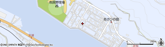 大分県津久見市千怒5228周辺の地図