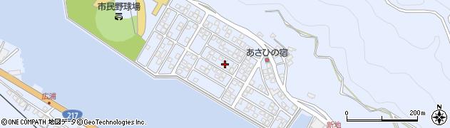 大分県津久見市千怒5199周辺の地図