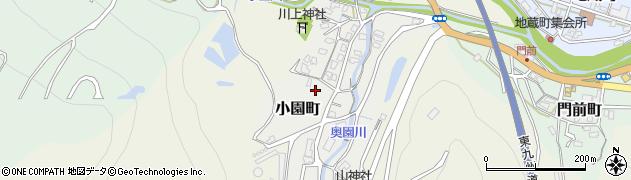 大分県津久見市小園町12周辺の地図