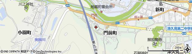 大分県津久見市門前町9周辺の地図