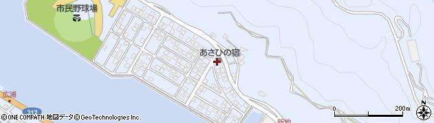 大分県津久見市千怒5088周辺の地図