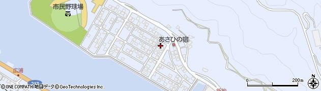 大分県津久見市千怒5173周辺の地図