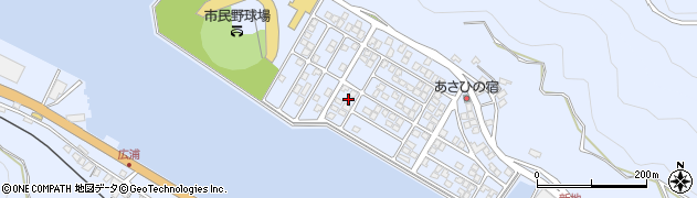 大分県津久見市千怒5224周辺の地図