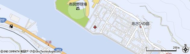 大分県津久見市千怒5323周辺の地図