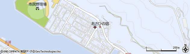 大分県津久見市千怒5161周辺の地図