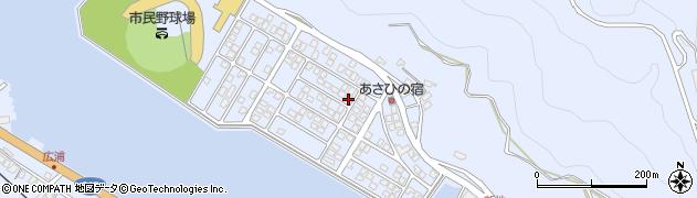 大分県津久見市千怒5174周辺の地図
