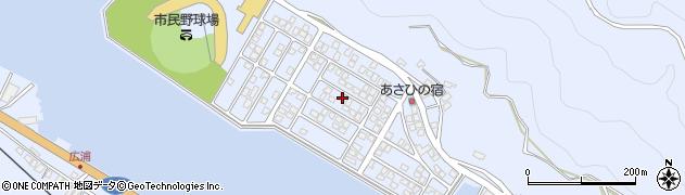 大分県津久見市千怒5190周辺の地図