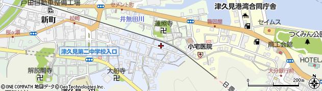大分県津久見市元町1周辺の地図