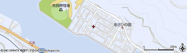 大分県津久見市千怒5213周辺の地図