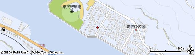 大分県津久見市千怒5303周辺の地図
