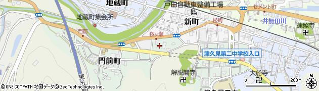 大分県津久見市門前町1周辺の地図