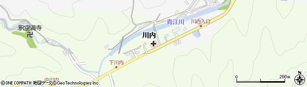 大分県津久見市上青江5783周辺の地図
